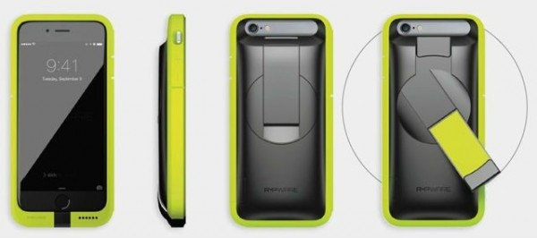 AMP为 iPhone 6s 带来了一个特殊的手机壳,可充电