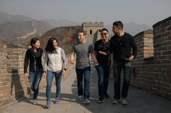 扎克伯格登长城游天坛 中国行收获了什么